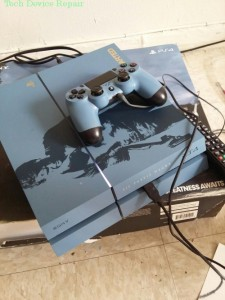 Limited Edition PS4 with BLOD problem